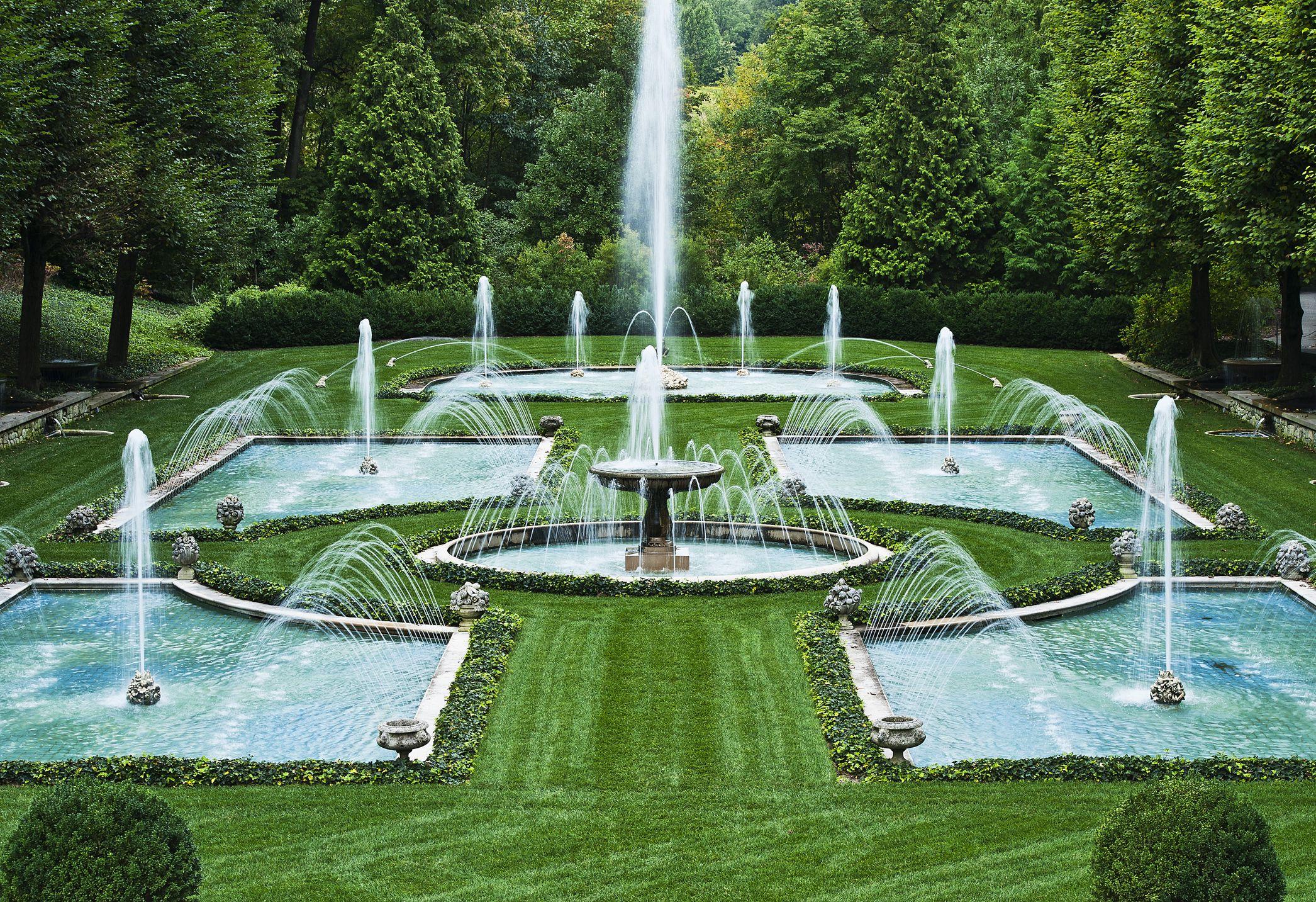 Fountain in Longwood Gardens