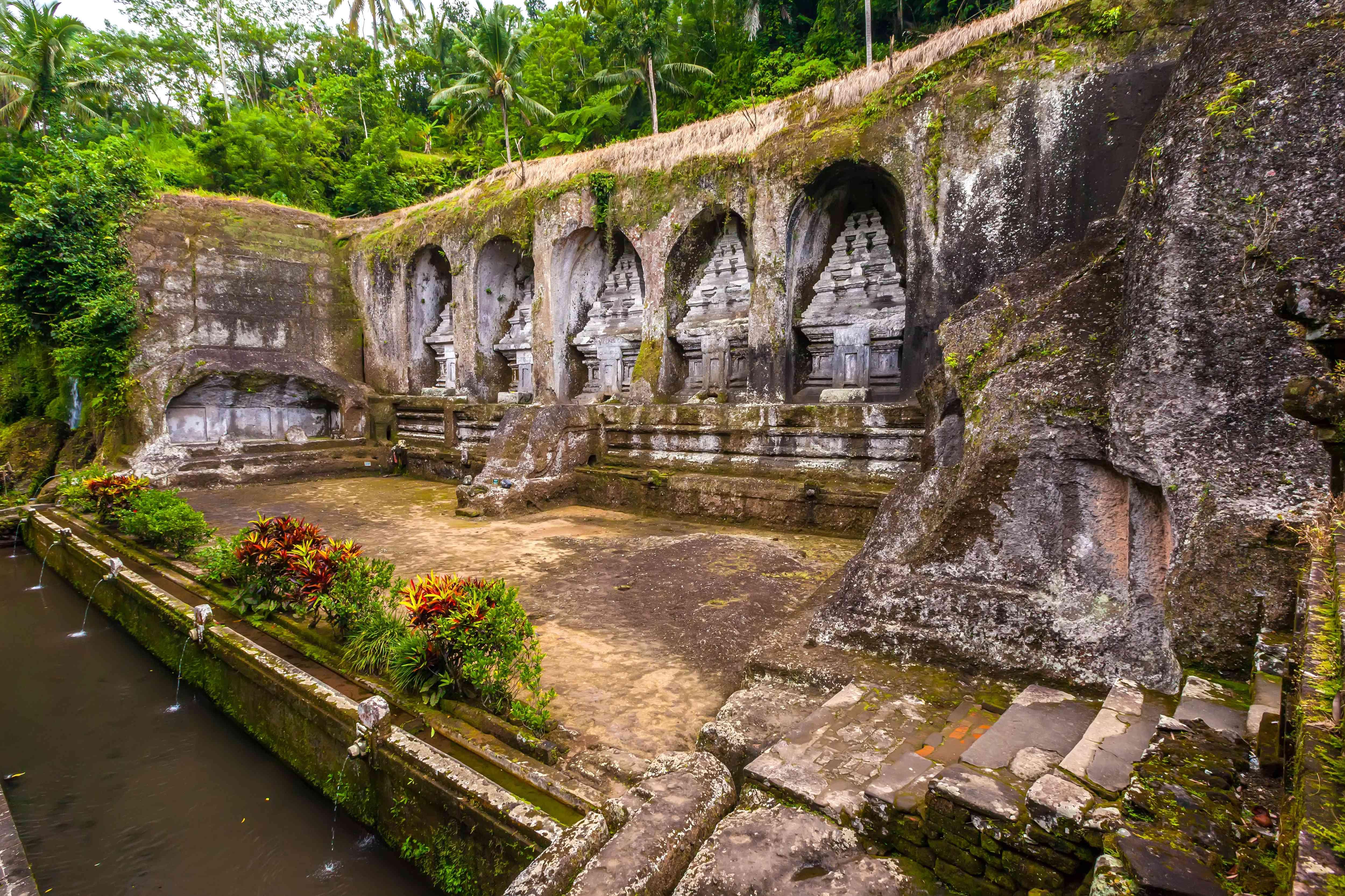 Pura Gunung Kawi in Bali, Indonesia