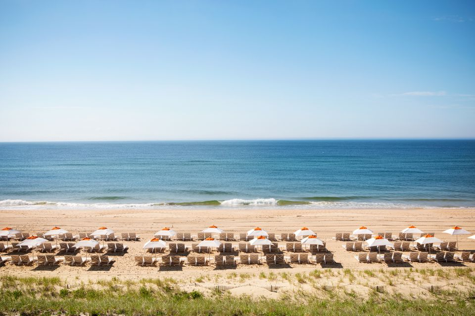 The Beach Club overview at Gurney's Montauk Resort & Seawater Spa