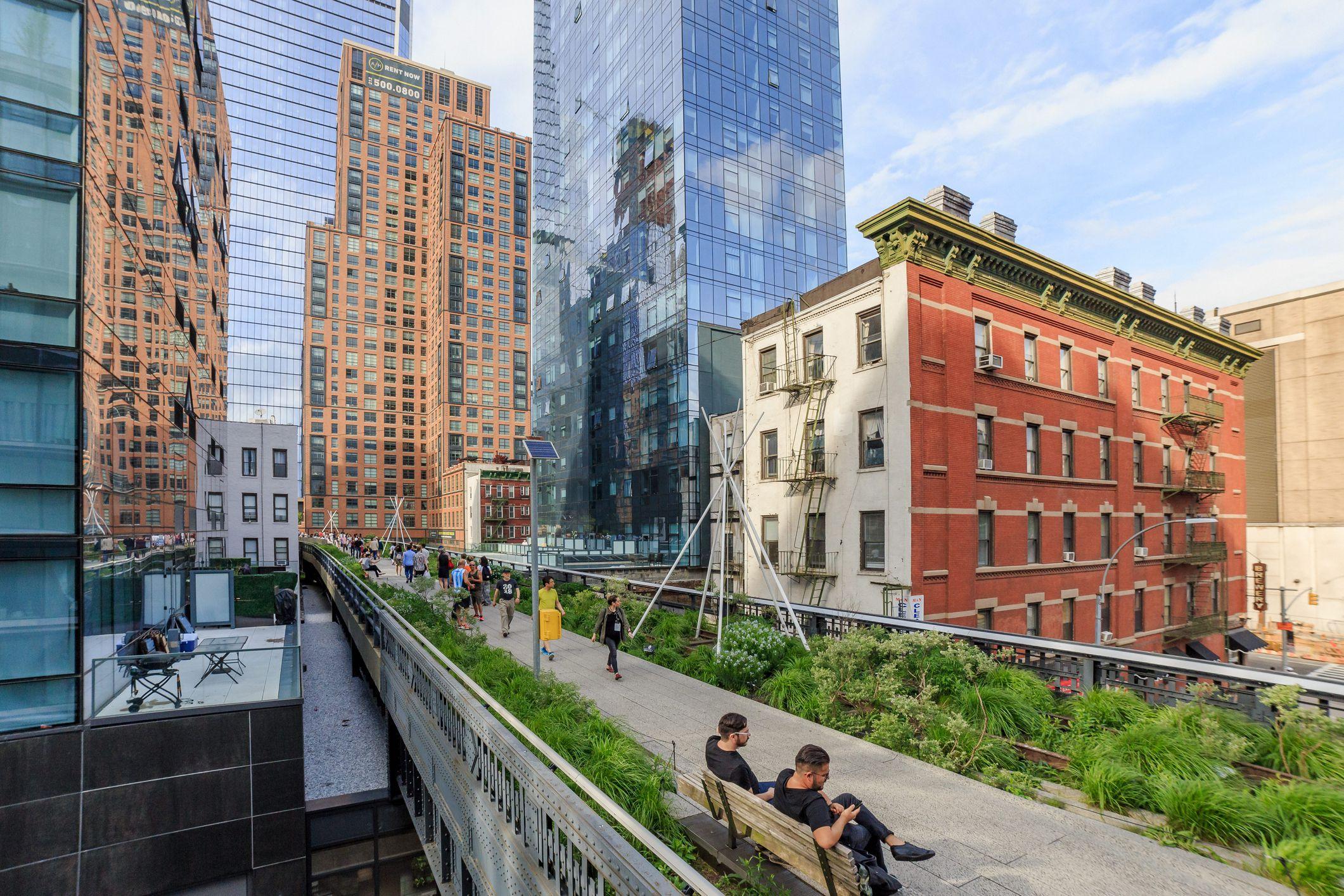 New York City High Line Park, Chelsea, Manhattan