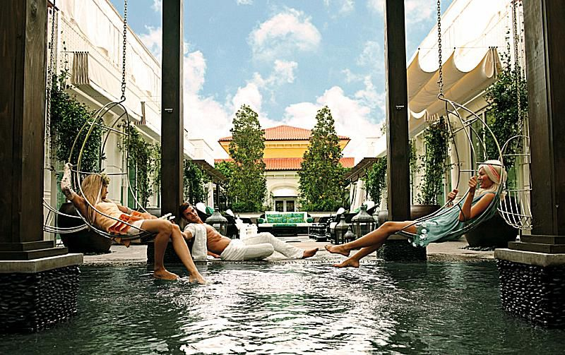 The Spa At Eau Palm Beach Resort Is An Playground