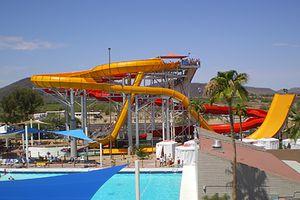 Six Flags Hurricane Harbor Phoenix water park