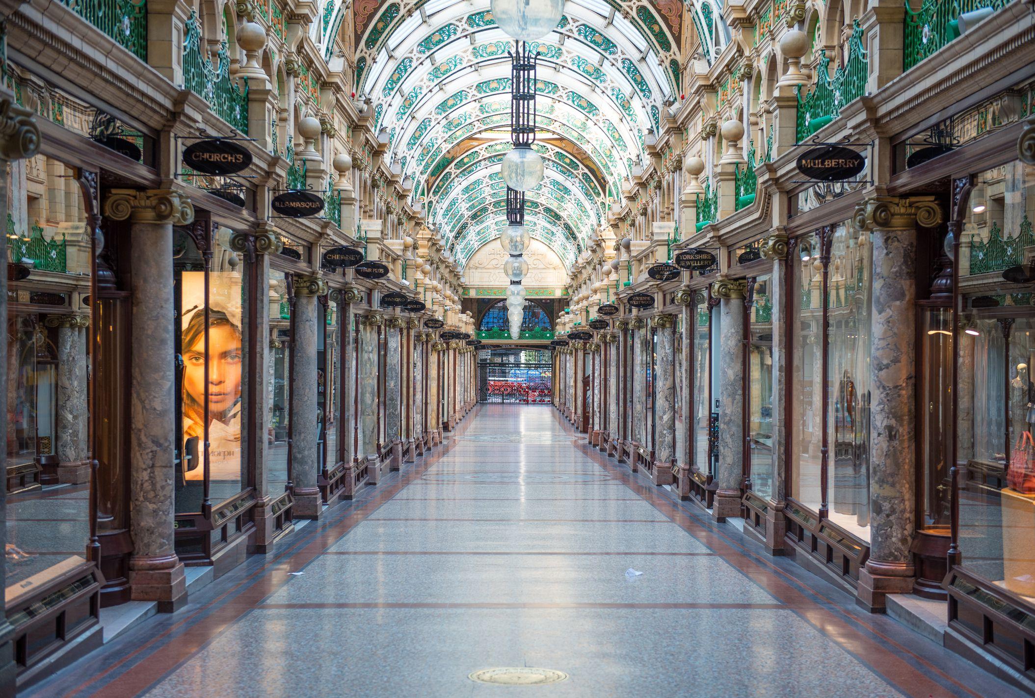 Arcade del condado, Victoria Quarter, Leeds
