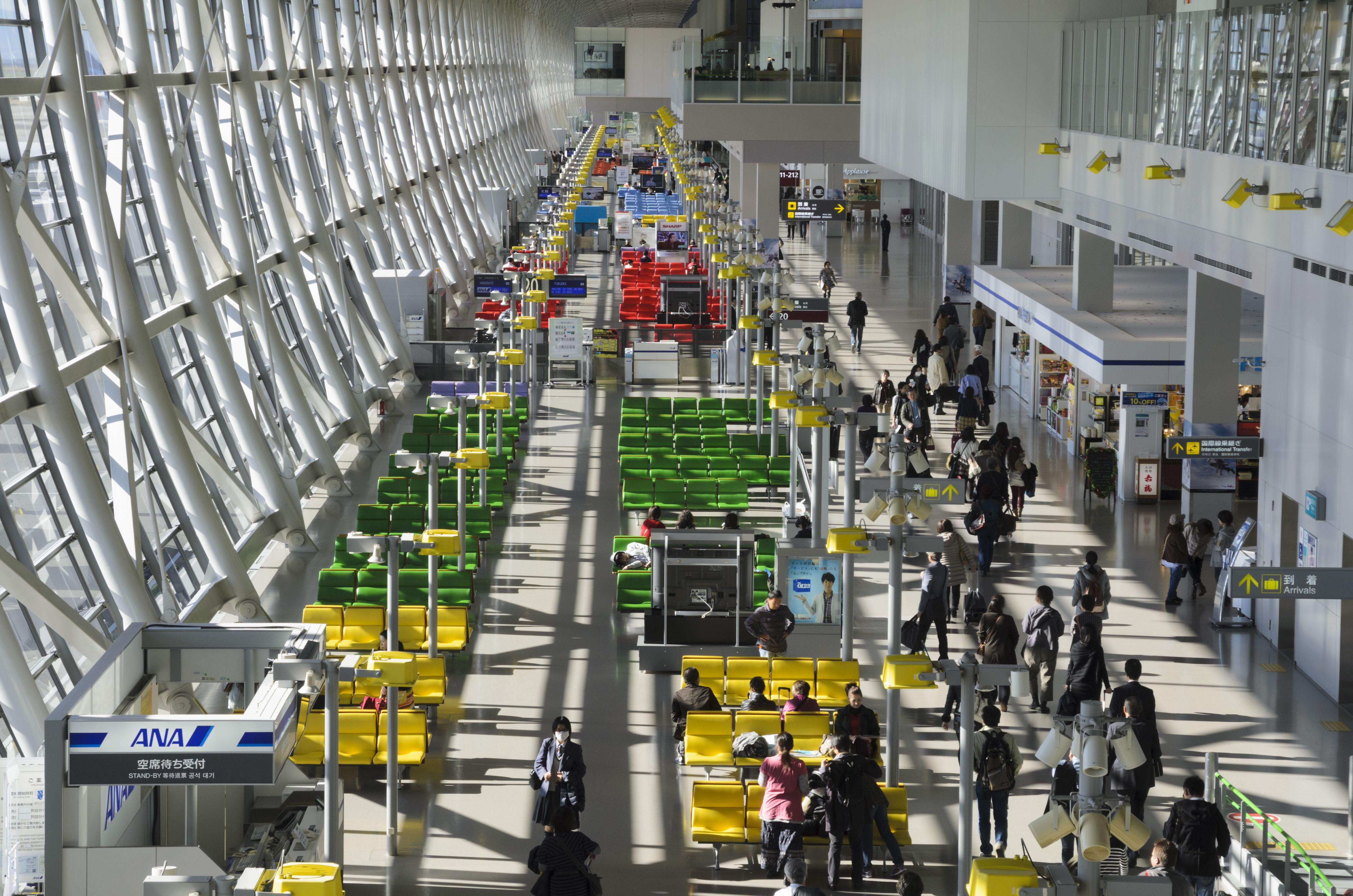 Kansai Airport, Japan
