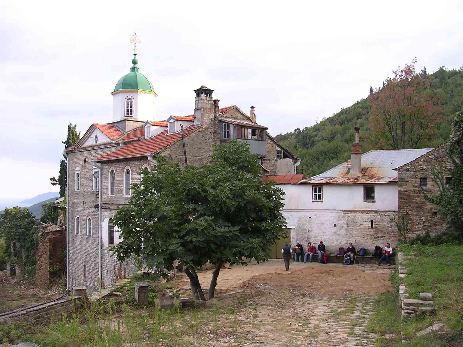The Holy Mount Athos