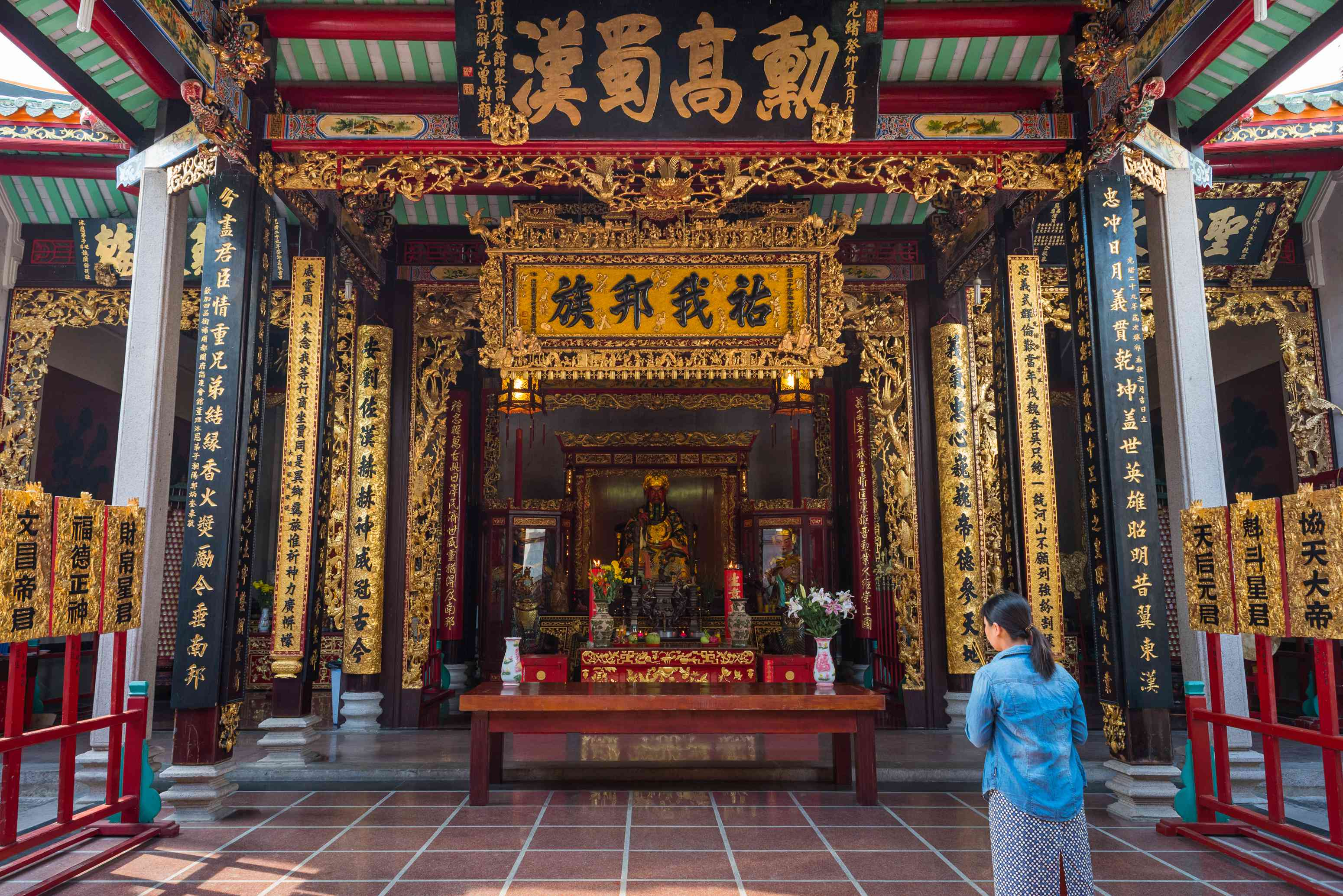 A Chinese temple in Cholon, Ho Chi Minh City's Chinatown