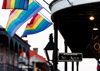 French Quarter Shows Its LGBTQ Stripes