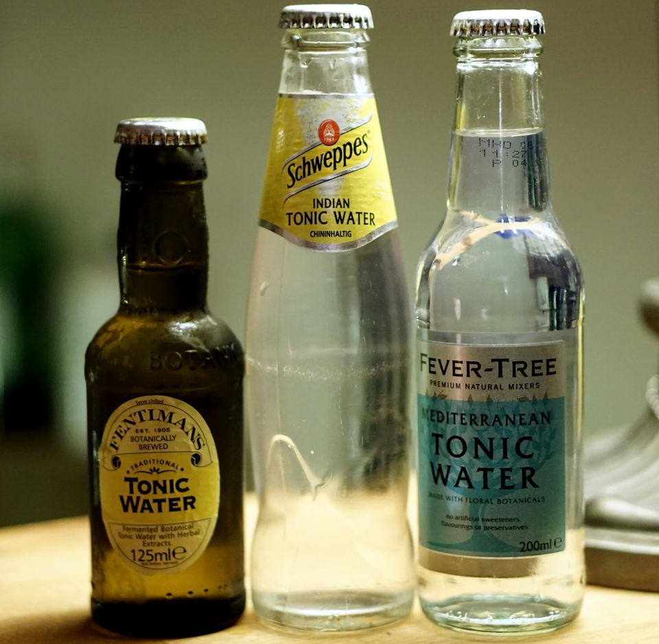 A Selection Of Por Brands Tonic Water