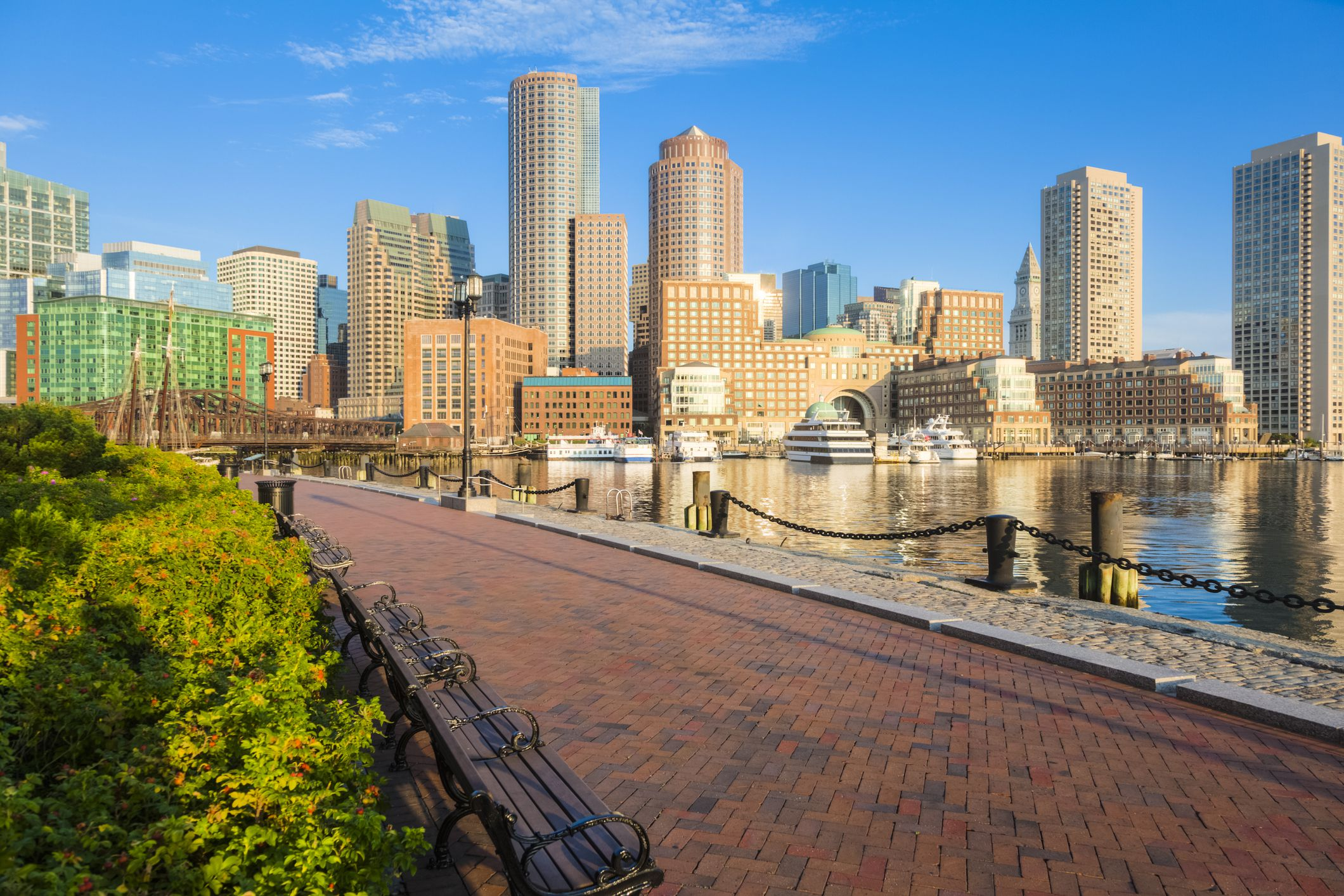Your Guide to Boston's Harborwalk