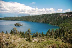 View of the Lake Tahoe Basin