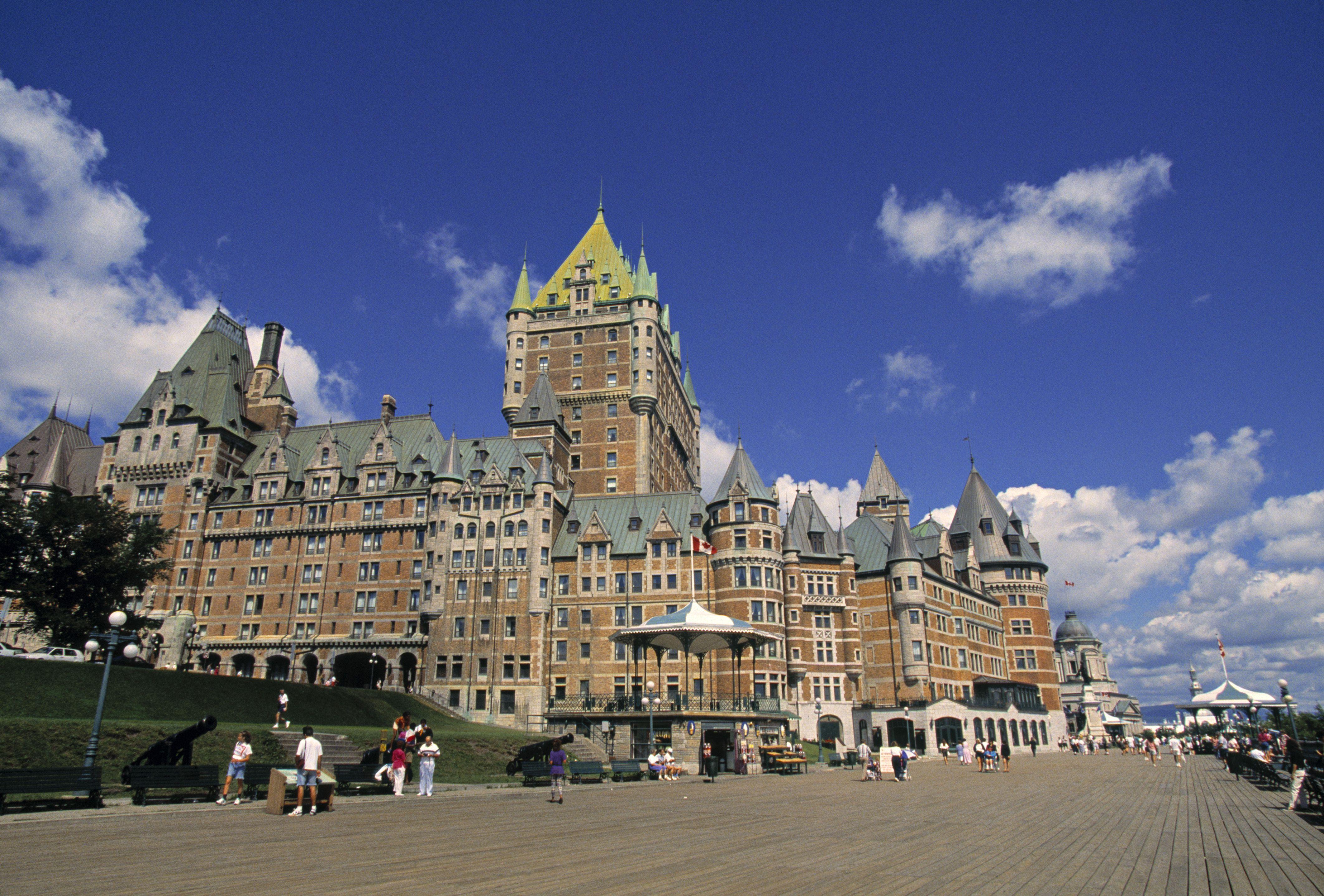 Chateau Frontenac Hotel, Quebec City