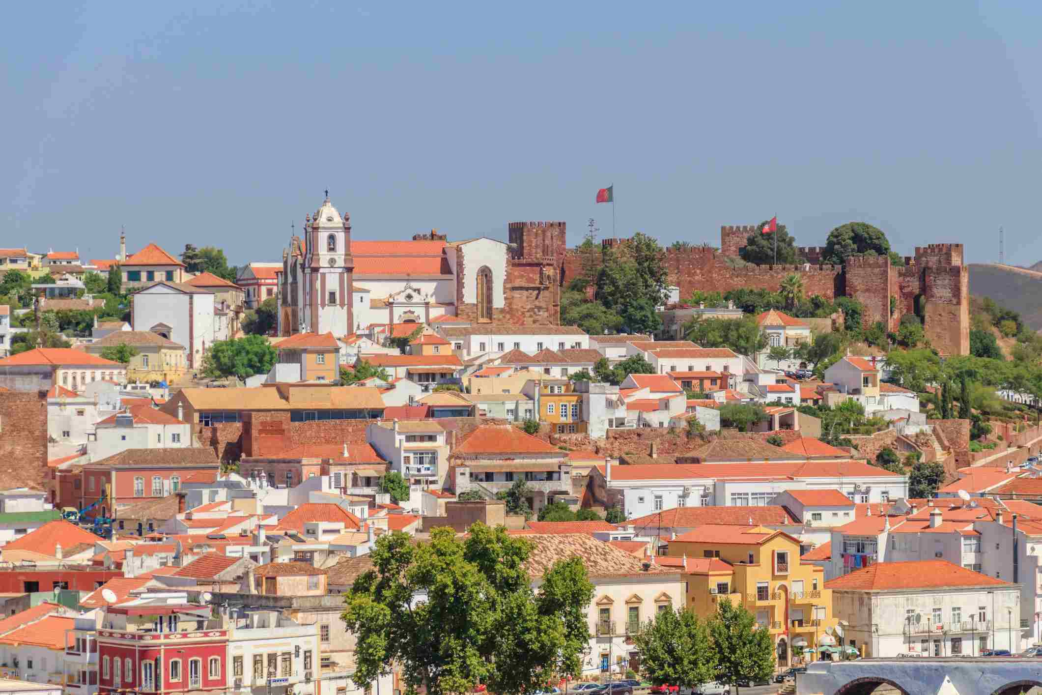 SIlves Castle, Algarve, Portugal