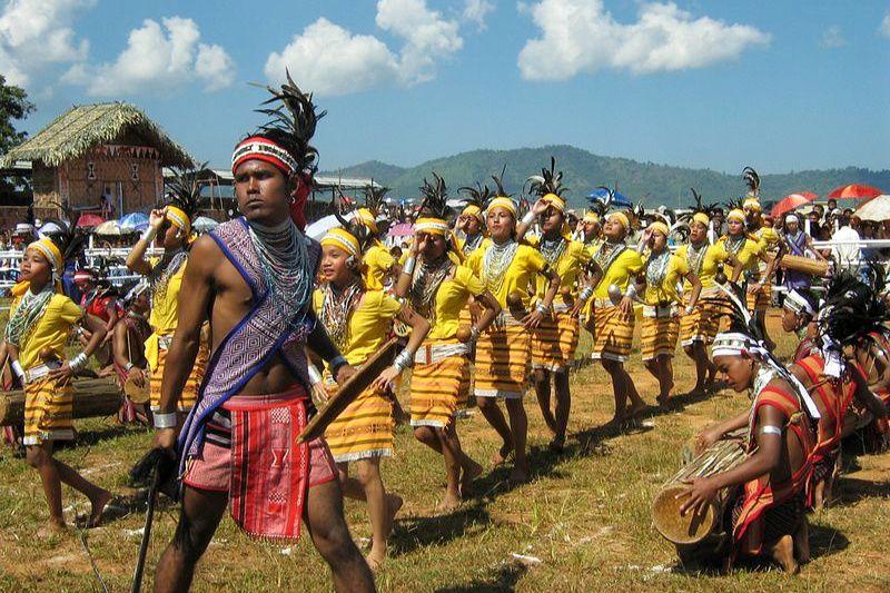 Wangala festival, India