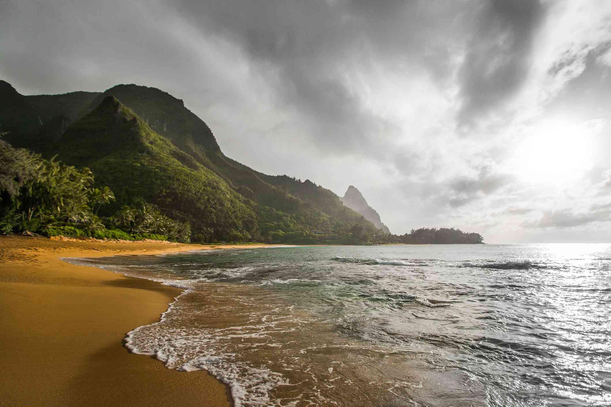 Tunnels Beach on Kauai