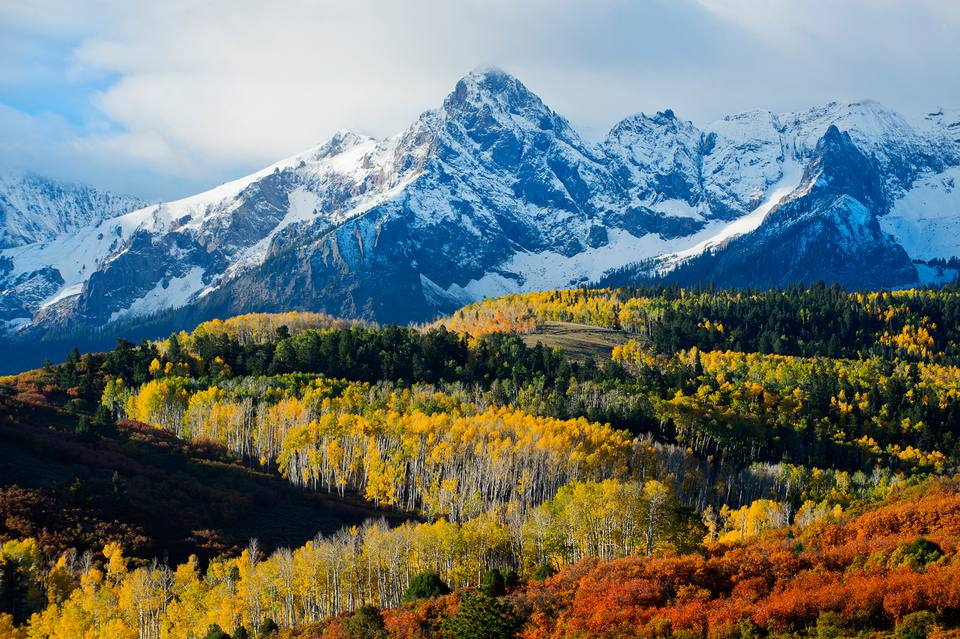 Aspen Mountain Fall