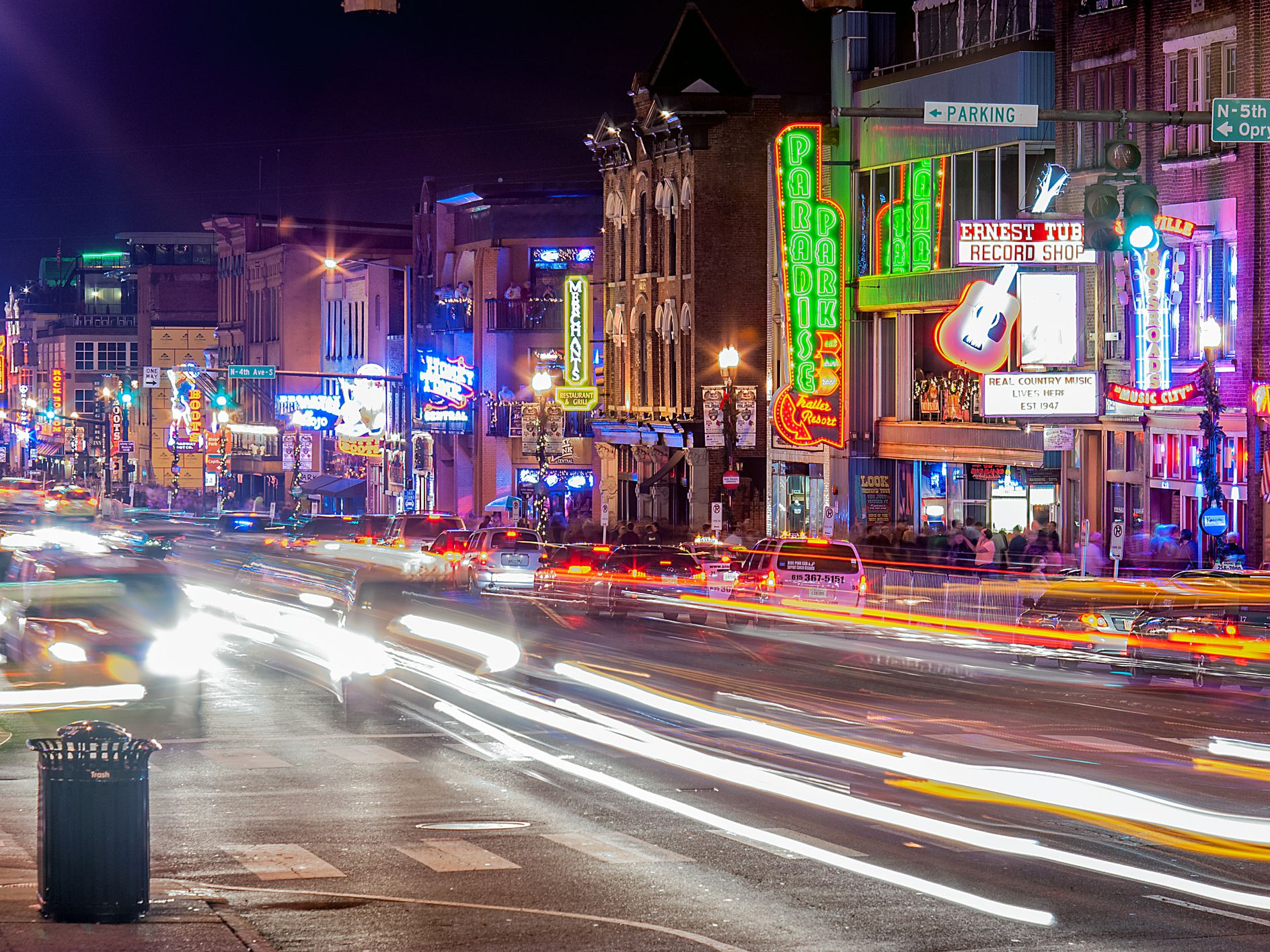 Traffic in Nashville, Tennessee