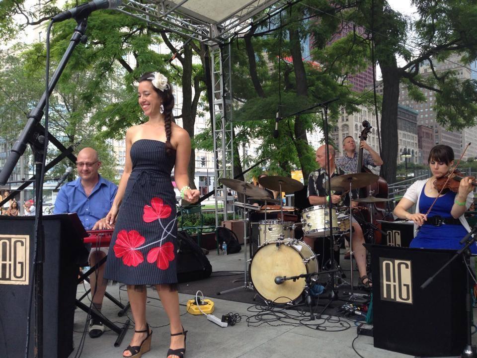 Alan Gresik Swing Shift Orchestra at Chicago SummerDance