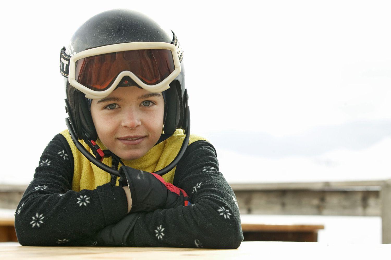Brown Ski Goggle