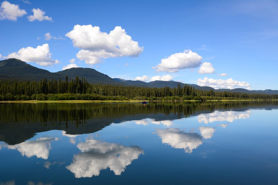 Canoeing the Teslin and Yukon rivers in Canada's Wild Northwest