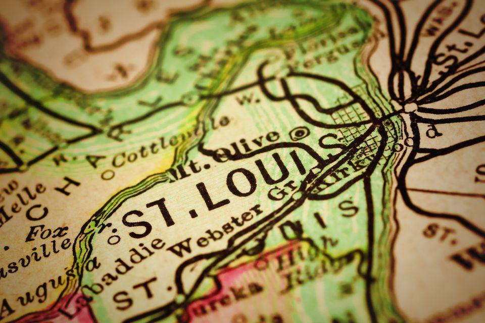 St. Louis | Missouri County maps