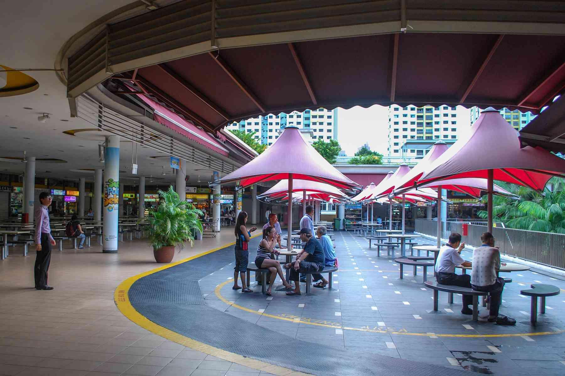 Tiong Bahru Hawker Center, Singapore