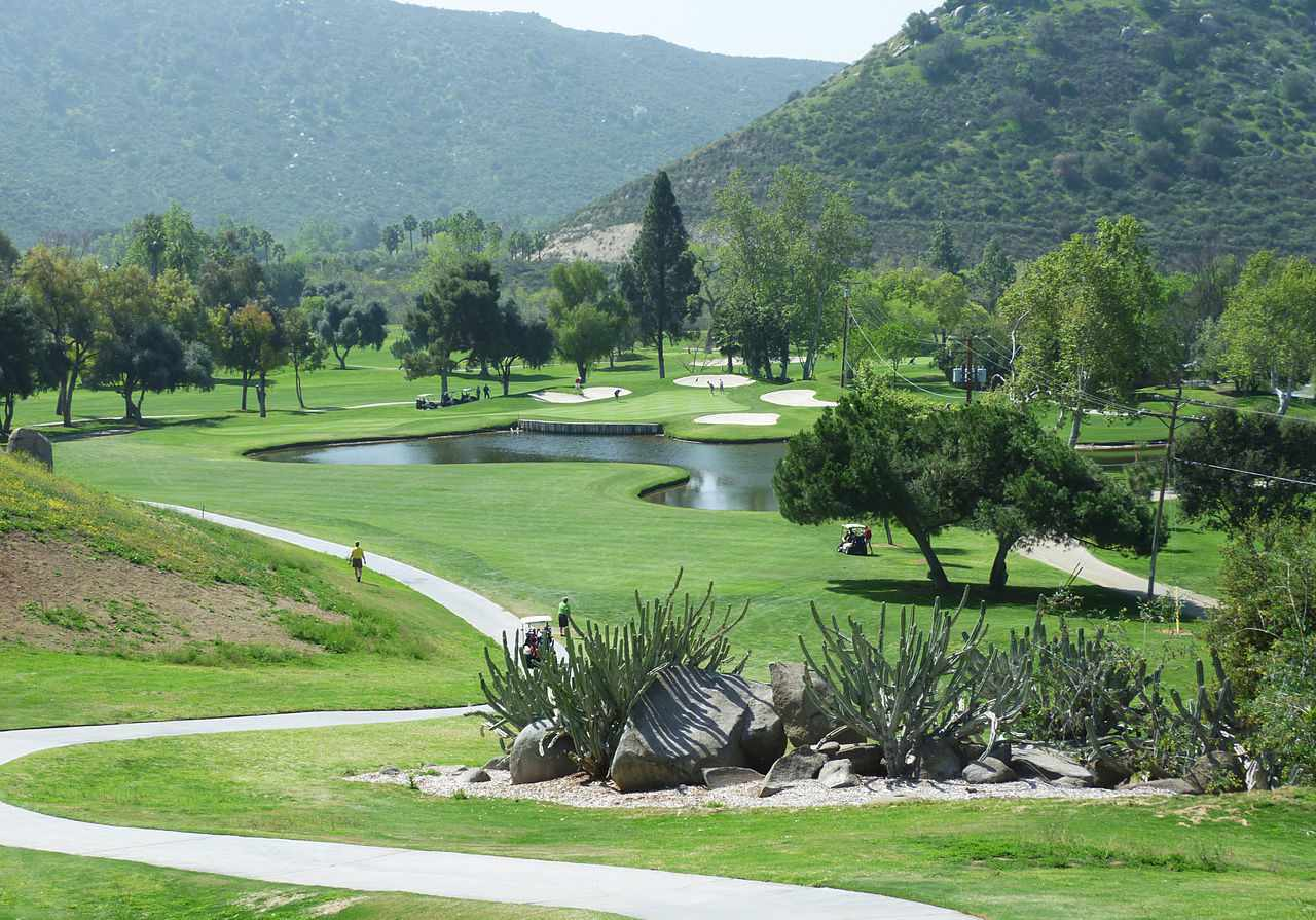 Sycuan Golf Resort Willow Glen Course 4th hole