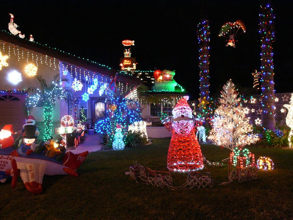 Christmas Light Displays.Christmas Light Displays Around San Diego