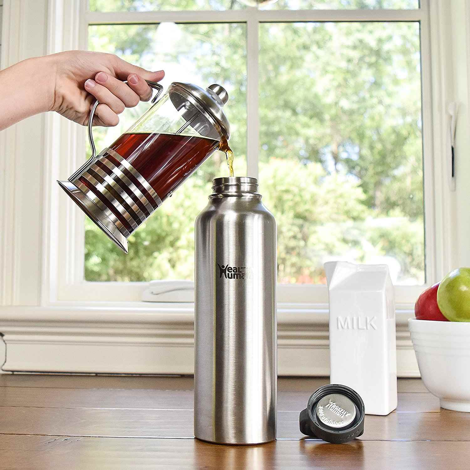 Best overall mira stainless steel vacuum insulated water bottle