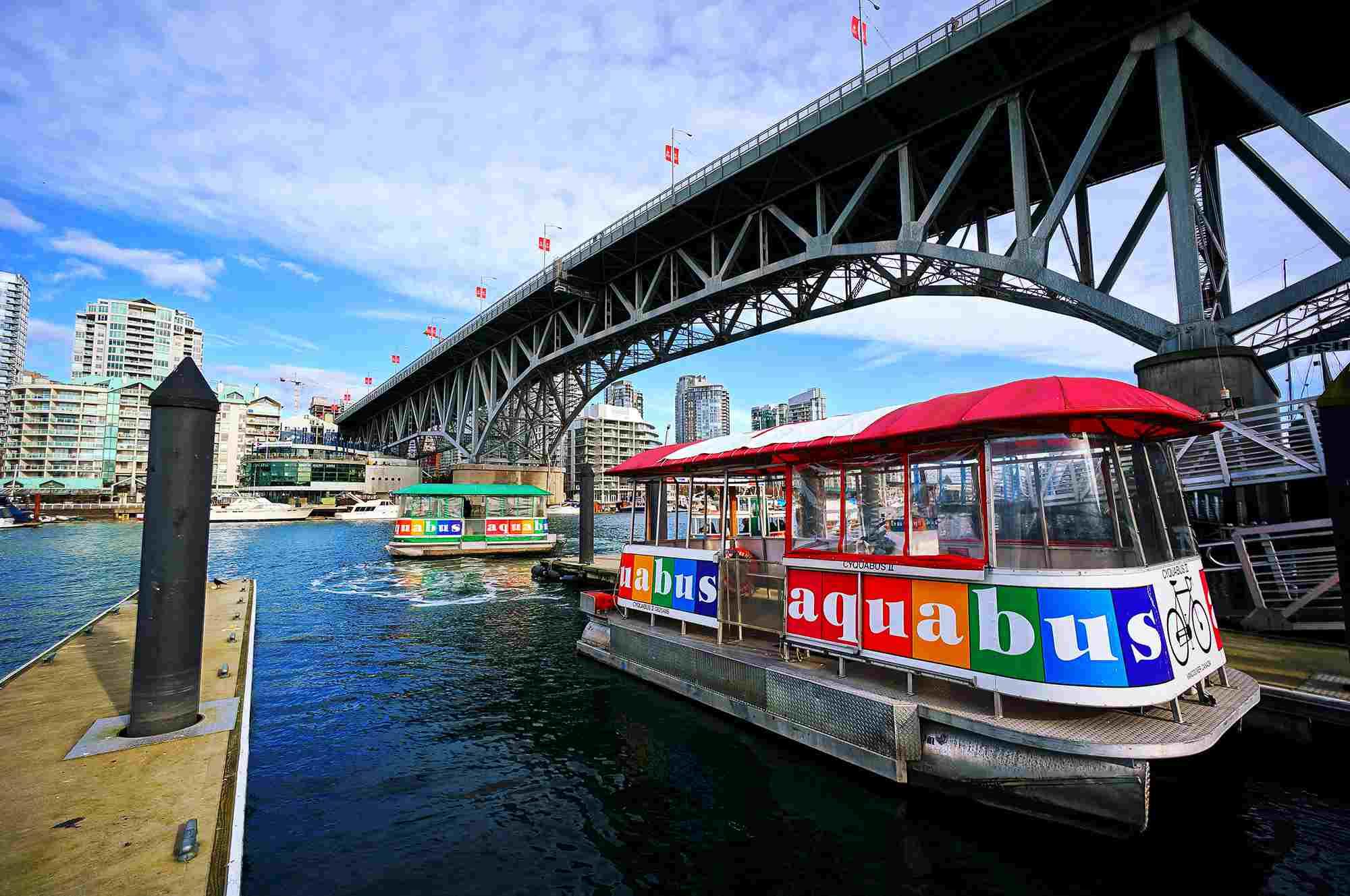 The Aquabus in Vancouver Canada