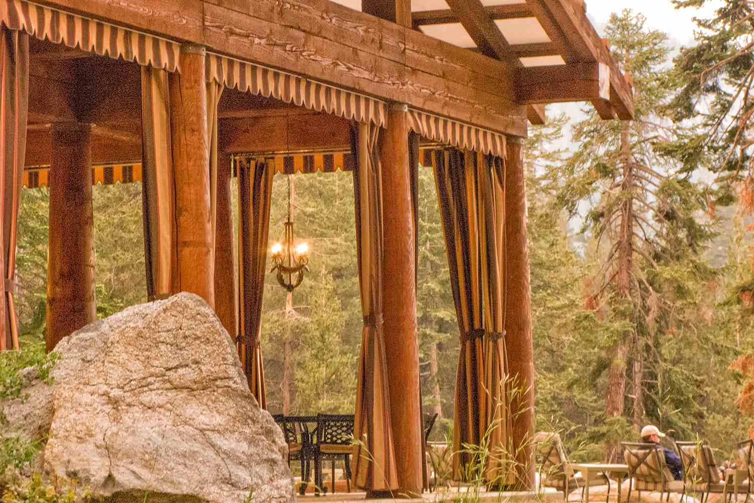 The Pavilion at Sequoia High Sierra Camp