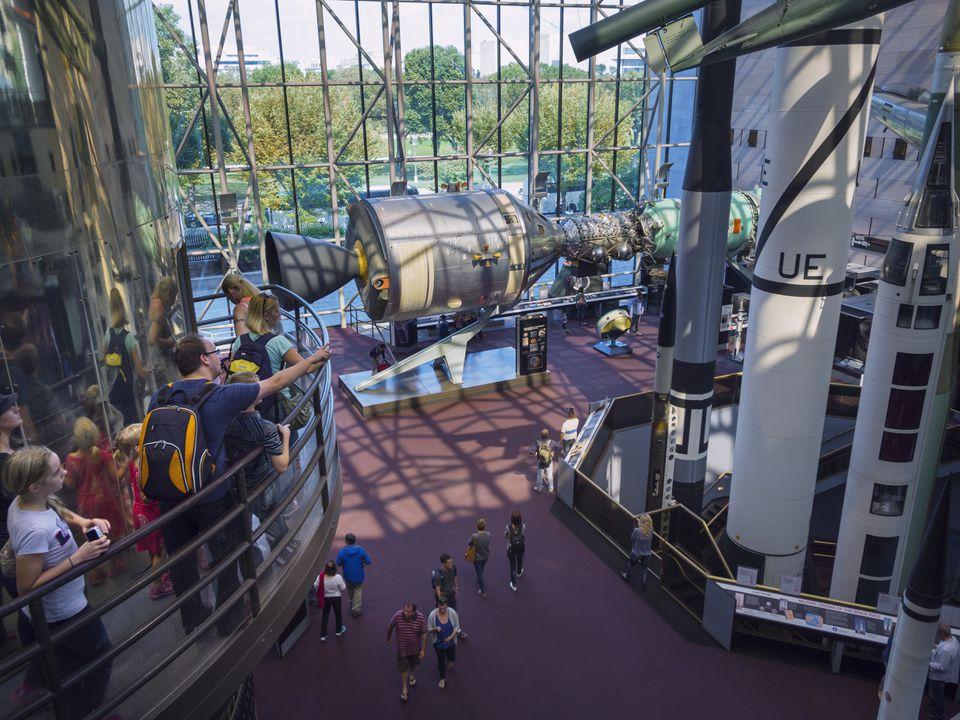 El Museo Nacional del Aire y el Espacio, Washington, DC.
