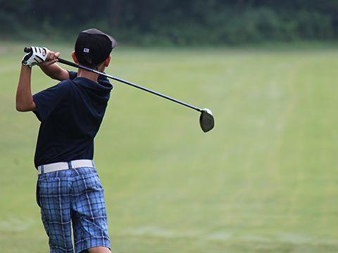 young golfer at Wigwam Resort: Phoenix, AZ