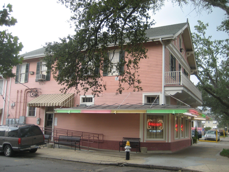 Mandina's Restaurant in New Orleans.