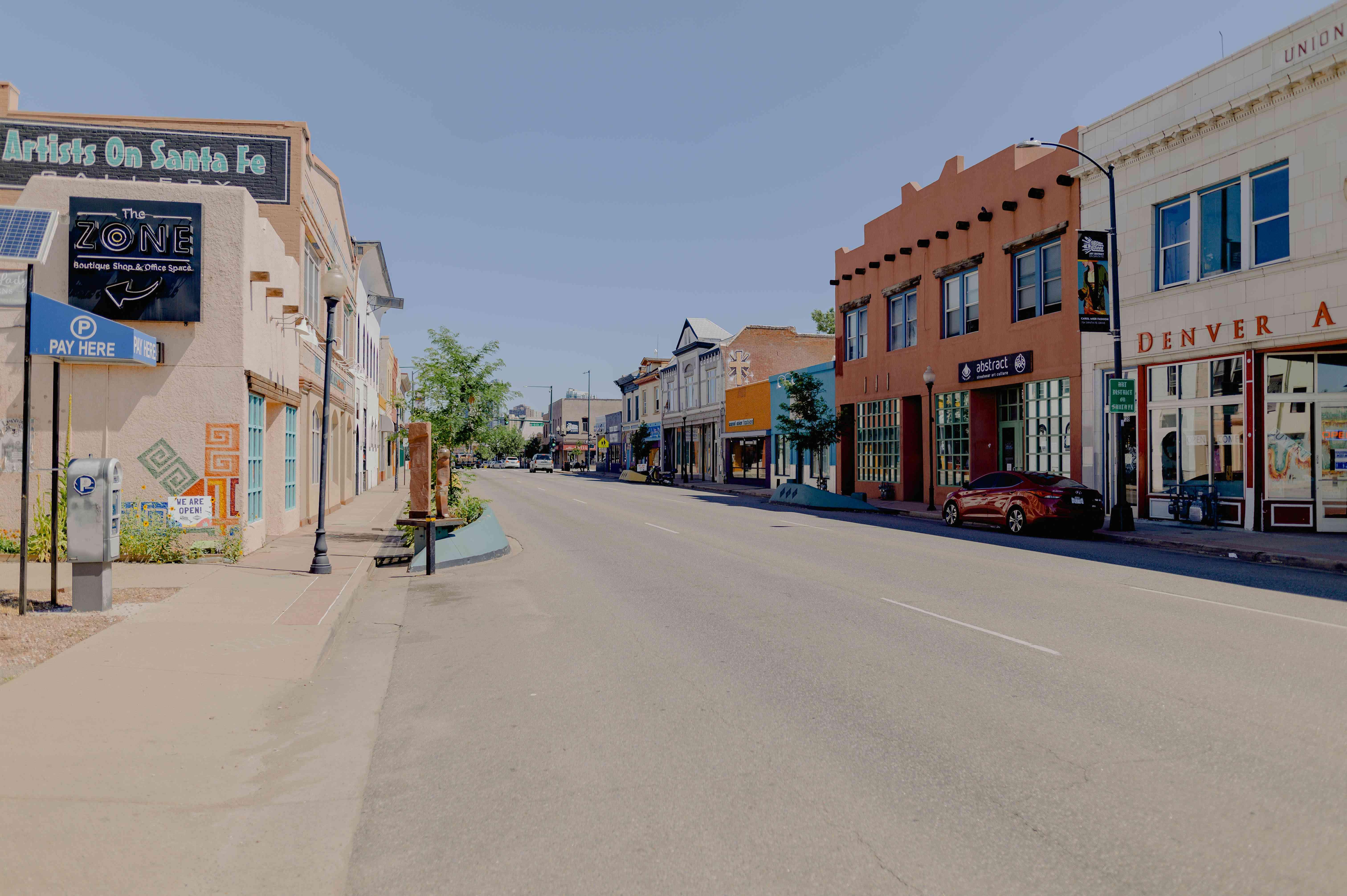 Sante Fe Arts District, Denver Colorado