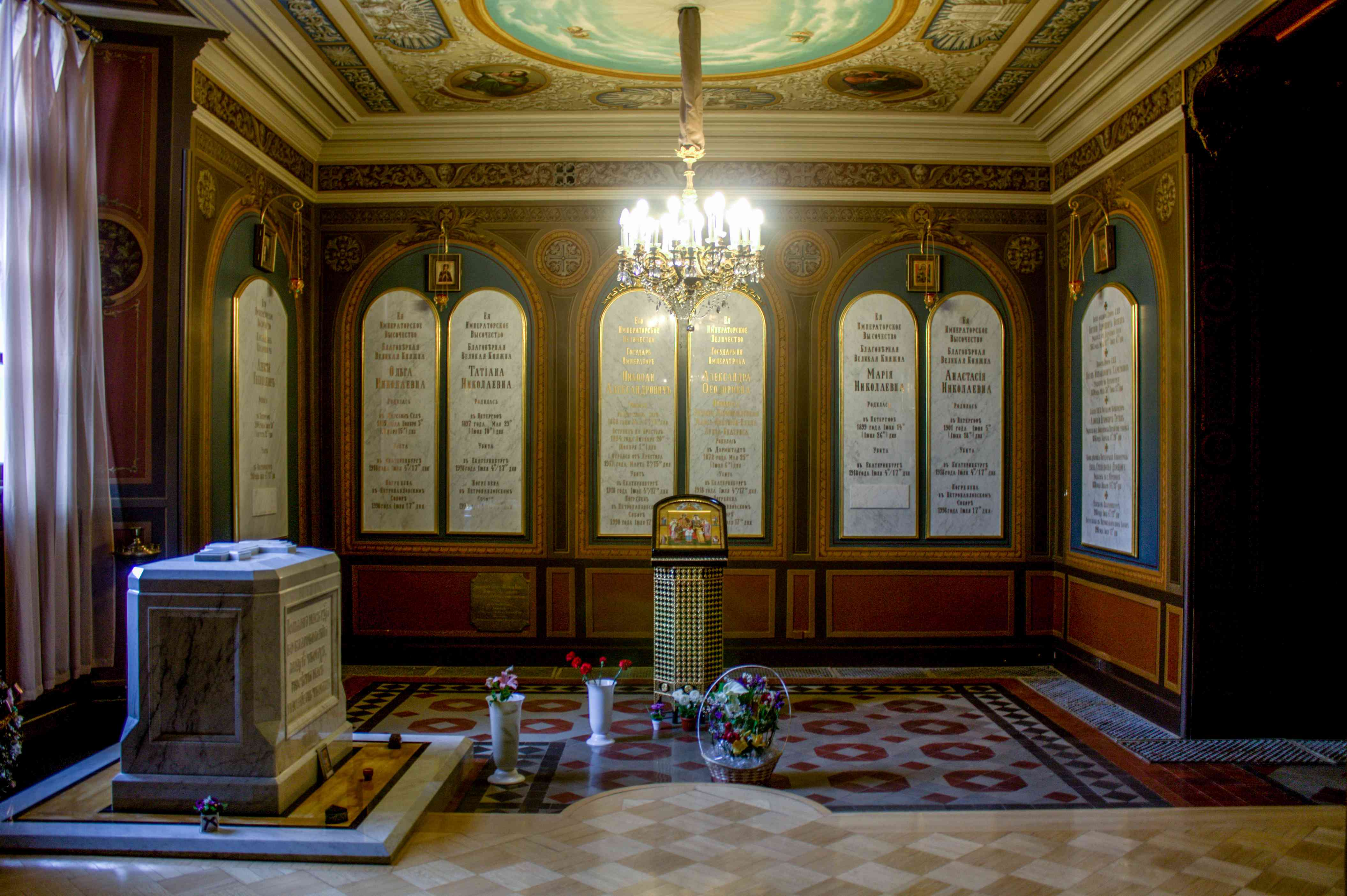 Inside Peter and paul fortress