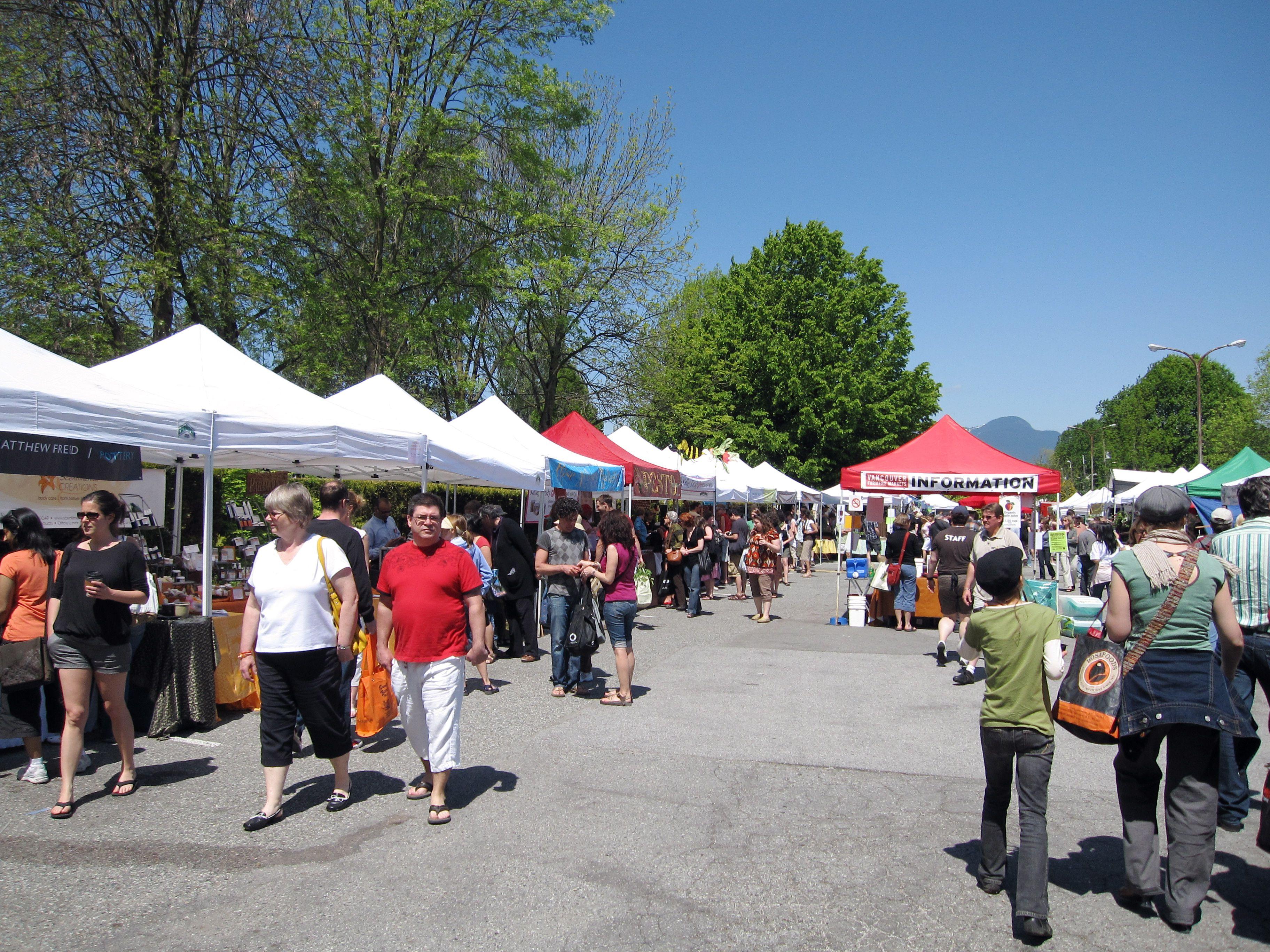 Vancouver Farmers Markets: Trout Lake Farmers Market