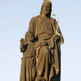 San José en el Puente de Praga Praga