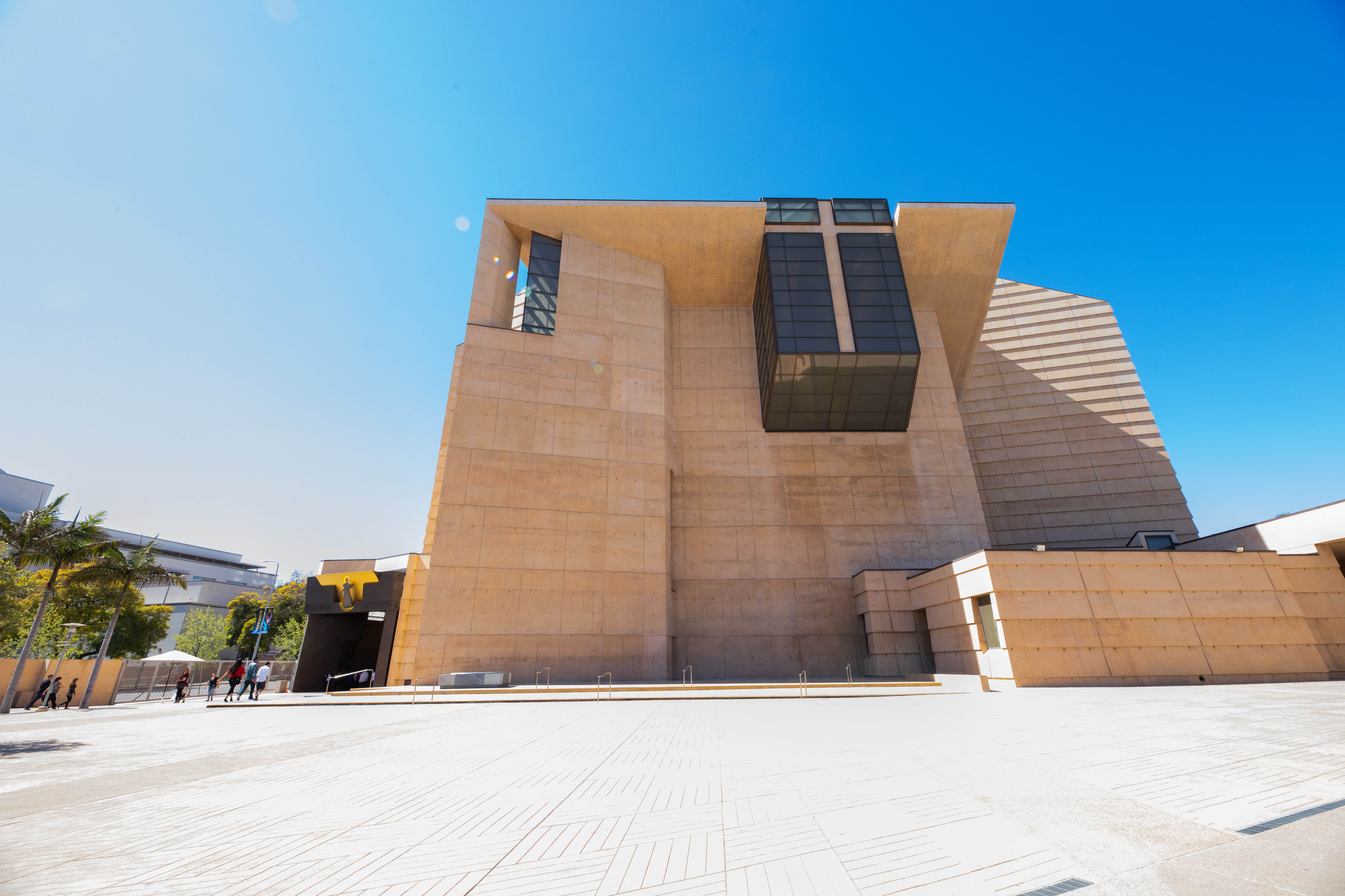 Exterior of the Cathedral of Our Lady of the Angles